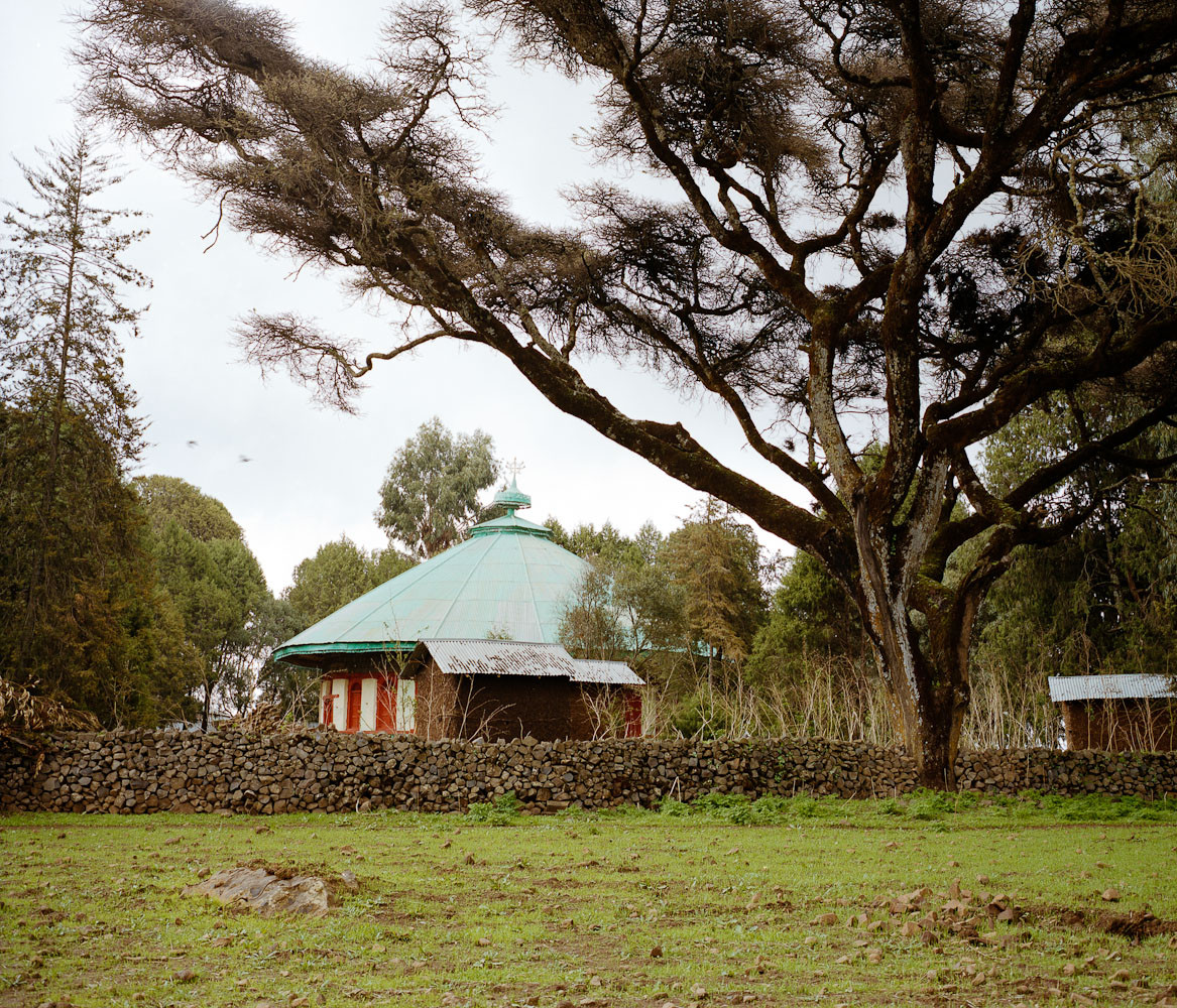 Church in the Wollo Highlands of northern Ethiopia