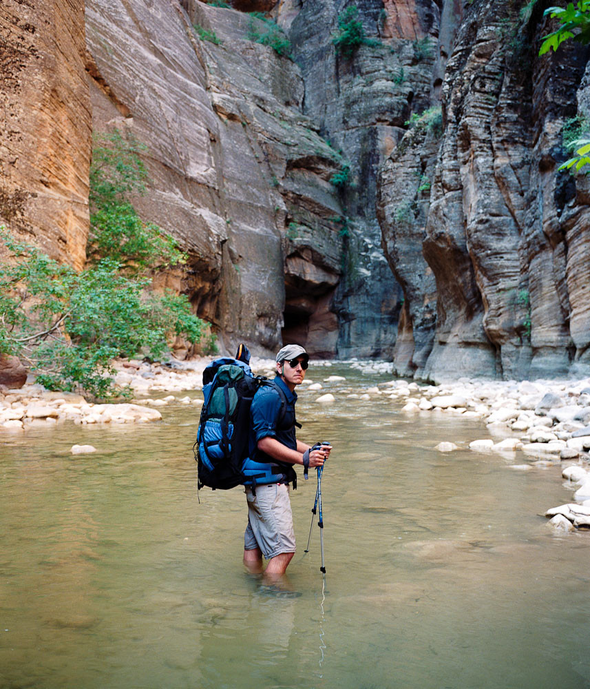John Thiltgen, Zion Narrows, Zion National Park, Utah